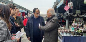 Al mercato di via Caramanico a Poggioreale