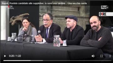 Sandro Ruotolo alla Domus Ars